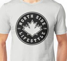 NSL Canada Black Leaf Crest Unisex T-Shirt