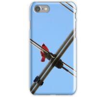 Redbird On A Wire iPhone Case/Skin
