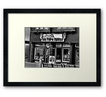 """Gatlinburg, Tennessee Series, #5, 'The Old Timey Photo Shop, 4th Picture'""... prints and products  Framed Print"