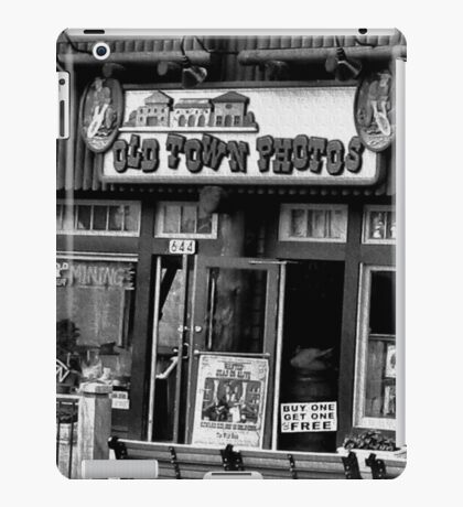 """""""Gatlinburg, Tennessee Series, #5, 'The Old Timey Photo Shop, 4th Picture'""""... prints and products  iPad Case/Skin"""