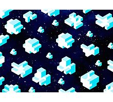 isometric clouds Photographic Print
