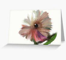 Eye of the flower Greeting Card