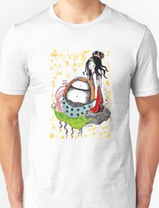 Little Empress Colour T-shirt  by Beatrice Ajayi T-Shirt