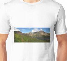 Snowdon and Llyn Llydaw panorama Unisex T-Shirt