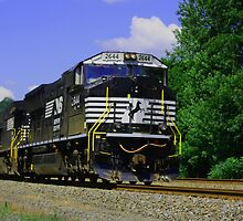 Norfolk Southern Locomotive by ZASlothower