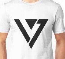 SEVENTEEN BLACK LOGO Unisex T-Shirt