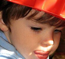 My little fireman... by Jenni Atkins-Stair