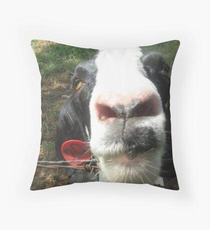 Goat on the Farm Throw Pillow