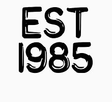EST 1985 Womens Fitted T-Shirt