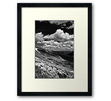 The Ridgeline Framed Print