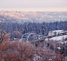 Edmonton. Christmas Morning 2009 by James Birkbeck