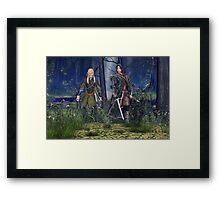 Frodo's Protectors Framed Print