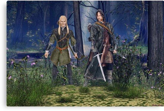 Frodo's Protectors by Walter Colvin
