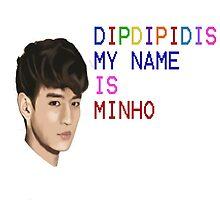 My name is minho by textilestalk