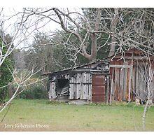 Patchwork shack Photographic Print