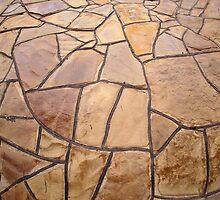 Decorative stone wall by vladromensky