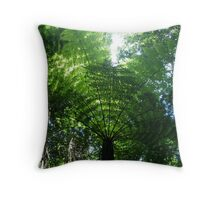 Canopy at the 3-sisters Throw Pillow