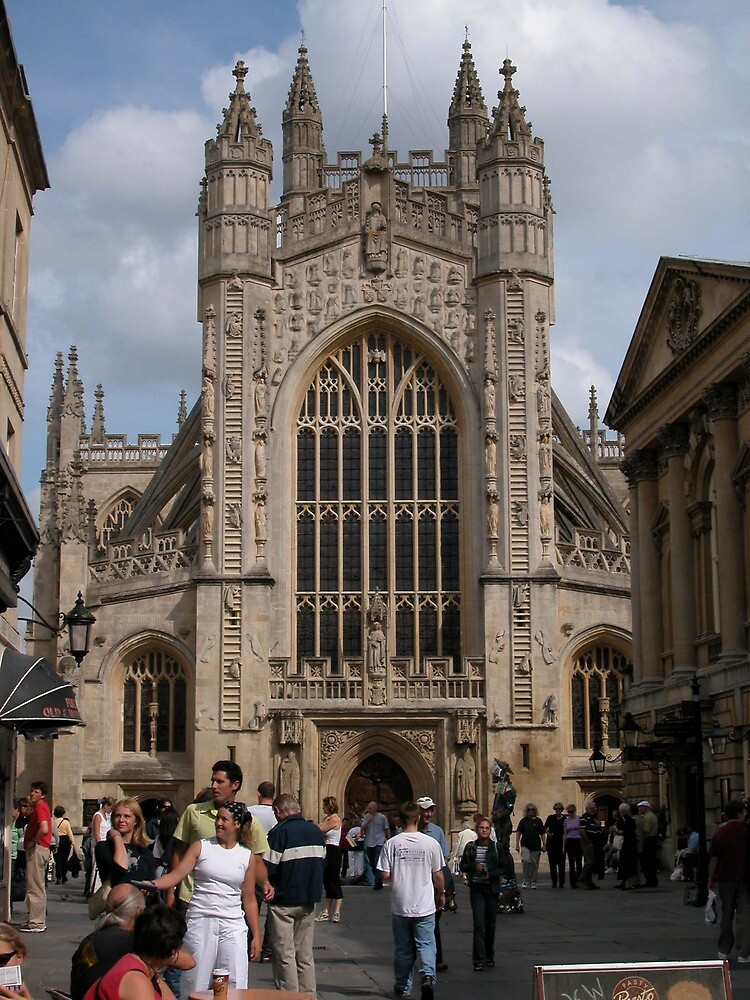 Bath Abbey, England by Joseph Rieg