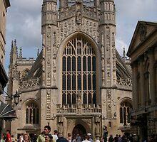 Bath Abbey, England by Joseph Rieg