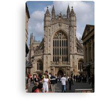 Bath Abbey, England Canvas Print