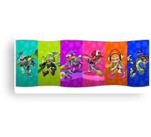 Splatoon's Team Battle Canvas Print