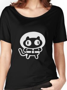 Cookie Cat - Black & White, design only Women's Relaxed Fit T-Shirt