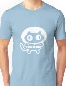 Cookie Cat - Black & White, design only Unisex T-Shirt