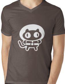 Cookie Cat - Black & White, design only Mens V-Neck T-Shirt