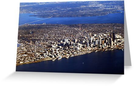 Seattle from Above by Tori Snow