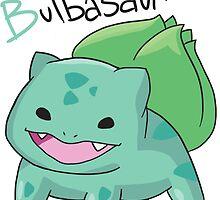 B for Bulbasaur by metalpika