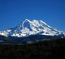 Mt. Rainier in December by Jodi Morgan