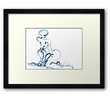 Water Woman 1 Framed Print