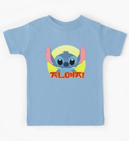 Aloha! Stitch Kids Tee