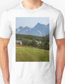 a large Norway landscape T-Shirt