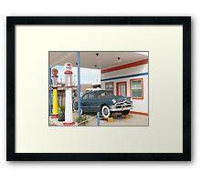 1950 Ford Deluxe 'Tudor'. Framed Print