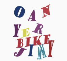 Oan Yer Bike Jimmy by Alex Gardiner