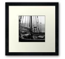 Ship Details  Framed Print
