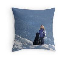 The Cheese Stands Alone Throw Pillow