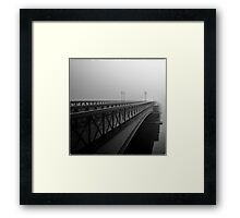 The Bridge II Framed Print