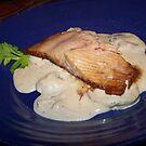 Salmon Dinner by Jessica Leavitt