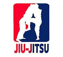 Jiu Jitsu Photographic Print