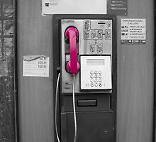 Pink Telephone by franceslewis