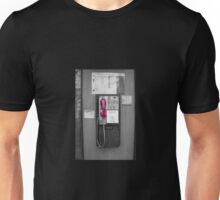 Pink Telephone Unisex T-Shirt