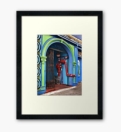Chinatown Utilities Framed Print