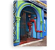 Chinatown Utilities Canvas Print