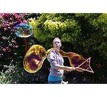 Bubble Trouble Photographic Print