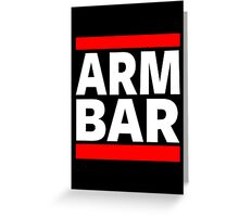 Jiu Jitsu - Arm Bar Greeting Card