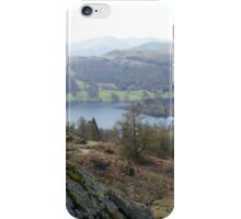 Mountaintop Lake View iPhone Case/Skin