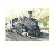 Steam Engine 481 Durango to Silverton, Colorado. Art Print