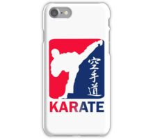 Karate iPhone Case/Skin